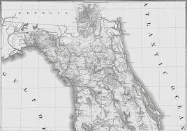 Map East Coast Florida by January 2013 The Florida Memory Blog