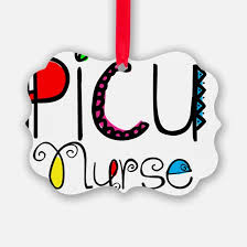picu unit nurse christmas ornament cafepress