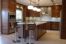 Dark Walnut Kitchen Cabinets by Minwax Dark Walnut For A Transitional Kitchen With A White Cabinet