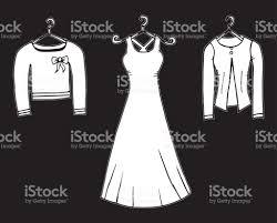 sketches of dresses stock vector art 689241100 istock