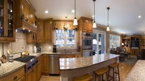 kitchen luxury tuscan kitchen ideas walnut cabinet beige granite