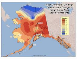 Bethel Alaska Map by Deep Cold Interior And Northern Alaska Weather U0026 Climate High