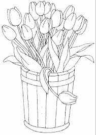 tulips coloring 25 wallpaper kids coloring pages books