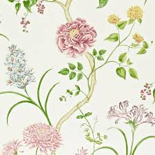 sanderson wallpaper summer tree lilac
