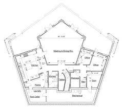 pentagon floor plan marvelous pentagon house plans gallery best inspiration home