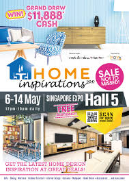 home inspirations 2017 6 to 14 may 2017 12pm to 10pm