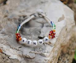 make bracelet with name images Name bracelets quot build your own quot name bracelet try it free jpg