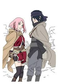 sasuke and sakura sasuke and travelling the world