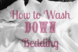 How To Wash Down Feather Comforter How To Wash Down Feather Pillows And Comforters The Ever Clever Wife