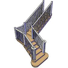 custom stairs in autocad architecture