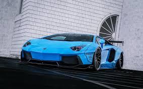 Lamborghini Aventador Neon - lamborghini aventador lp720 4 liberty lb perfomance blue supercar