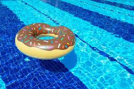floating table for pool food inspired inflatable pool floats tasting table