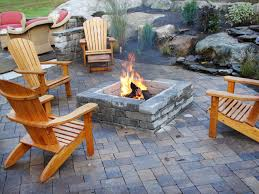 Diy Patio Furniture Cinder Blocks 66 Fire Pit And Outdoor Fireplace Ideas Diy Network Blog Made