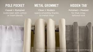 Tips For Selecting The Perfect Door Hardware For Your by Choose The Right Curtains West Elm
