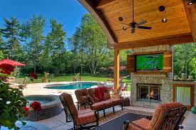 Backyard Outdoor Living Ideas How To Create An Entertaining Outdoor Movie Night