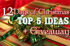 12 days of christmas top 5 ideas giveaway temple square