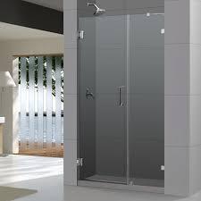 24 Frameless Shower Door Dreamline Unidoor 24 In X 72 In Frameless Hinged Shower Door In