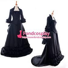fond cosplay high quality cosplay costume sissy maid dress