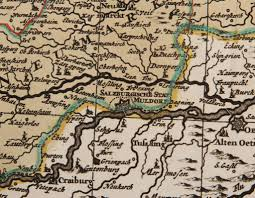 Munich Germany Map by 17th Century Antique Map Of Lower Bavaria Germany Including