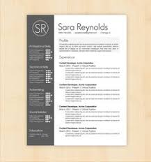 Creative Resume Samples by Instant Download Resume Template Cv Template