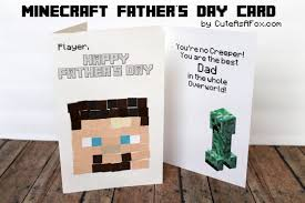 minecraft s day cards