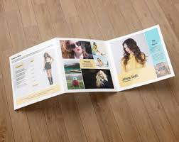 photography brochure template trifold photography marketing