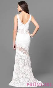 formal v neck lace mermaid dress with train promgirl
