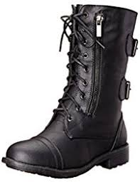 womens black dress boots canada amazon com combat boots shoes clothing shoes jewelry