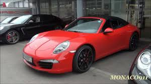 porsche red 2012 porsche 911 991 carrera s cabrio red youtube