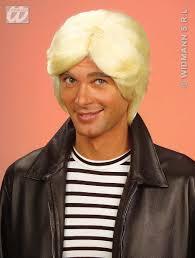 mens blonde wig prince charming 70 u0027s disco austin powers fancy