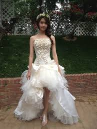 wedding dress pendek live my yoona in wedding dress