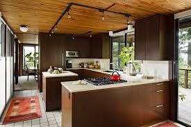 Kitchen Cabinets Without Hardware Kitchen Furniture Mid Century Modern Cabinets Minimalist Kitchen