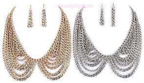 chain collar necklace images Necklace sets jpg