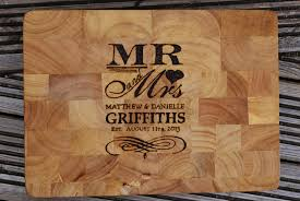 cutting board wedding gift custom wedding gift chopping board by llinosevans on deviantart