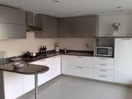 L Kitchen Designs Small White L Shaped Modular Kitchen Design Marti Style