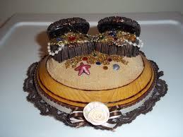 pirate treasure chests wedding cake topper by sarwynravenfae