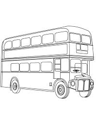 image gallery london bus drawing