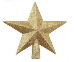 christmas tree stars gold star of unique christmas tree toppers