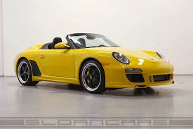 porsche 911 997 for sale beautiful porsche 911 997 speedster is up for sale