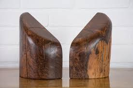 Midcentury Modern Finds - don shoemaker cocobolo bookends méxico 1960s u2014 mid century