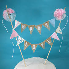 cake toppers for baby showers burlap cake topper gender reveal baby shower baby a281