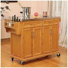 kitchen island cart stainless steel top kitchen island with wheels stainless steel roselawnlutheran