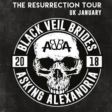 buy black veil brides u0026 asking alexandria tickets black veil