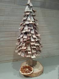 buy christmas tree made of birch bark decorative tree eco decor
