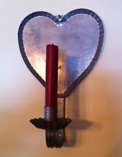 Tin Sconce Country Sconce Hanging Candle Holders U0026 Accessories Ebay