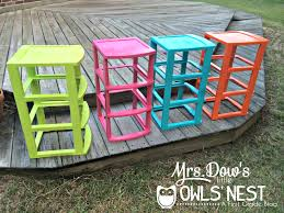 diy monday made it colored sterilite drawers spray paint for