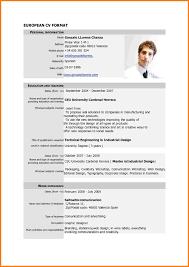 simple resume format doc free download cv fomat europe tripsleep co