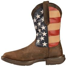 durango rebel american flag cowboy boots square toe country