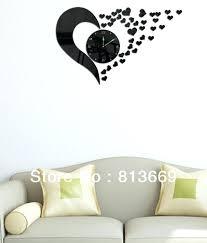 wall clocks canada home decor quiet wall clock canada