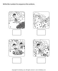 kindergarten sequencing worksheets worksheets